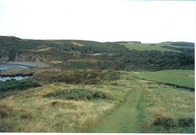 Clifftop path near Portpatrick