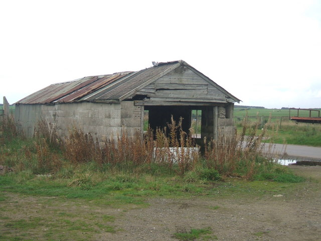 disused farm shed at Woodside