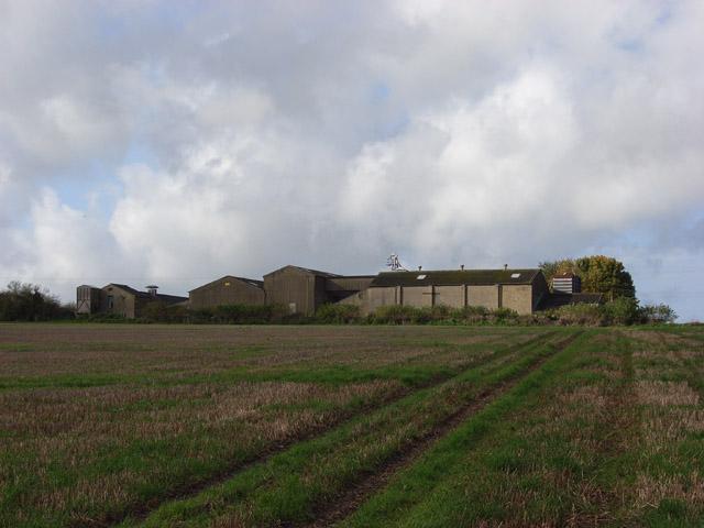 Farm buildings near Woodlands Farm