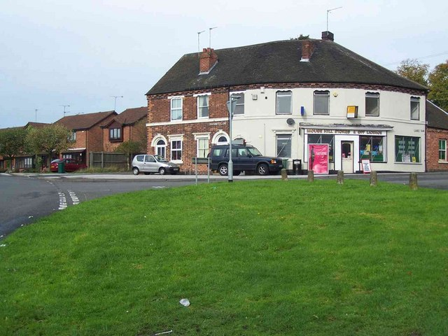 Junction of Mouse Hill and Foundry Lane, Pelsall