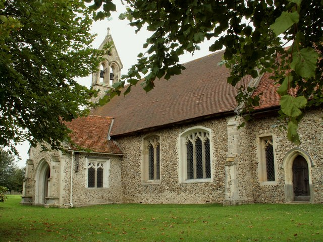All Saints church, High Roding, Essex