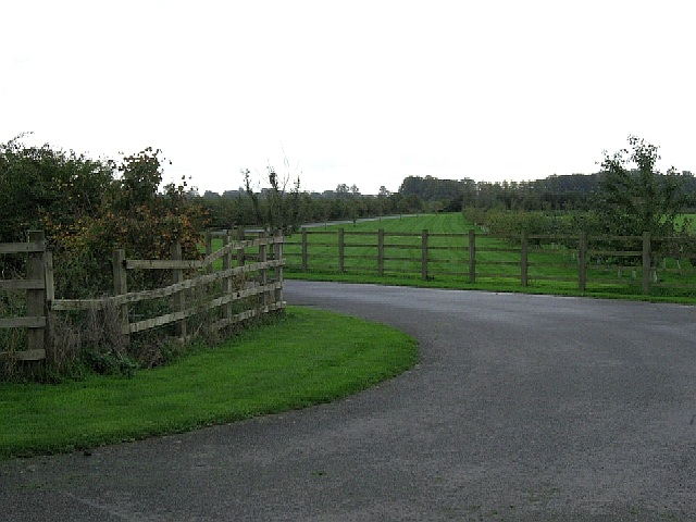 The Driveway To Providence Farm
