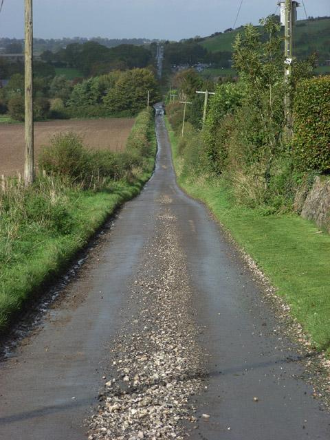 Lane above Ogbourne St George