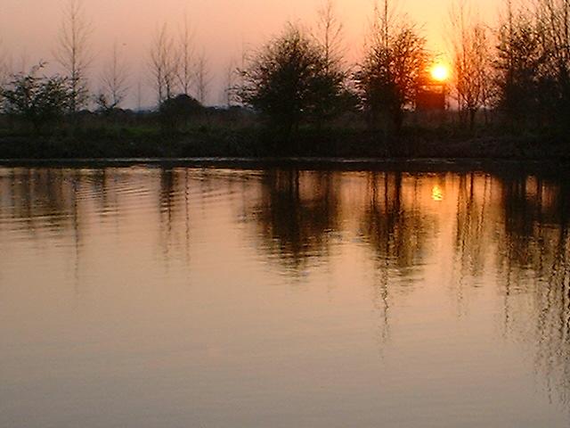 Lake near Warmington Lock, River Nene