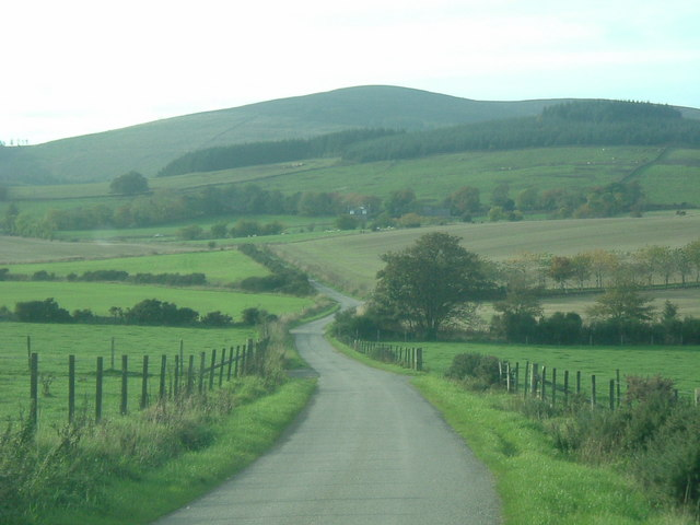 View of Corrennie Moor.