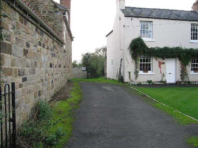 A Footpath In Their Garden