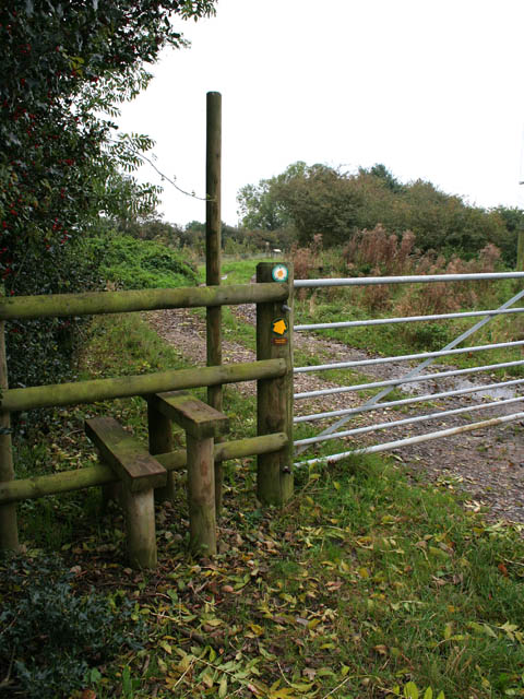 Stile into the National Forest