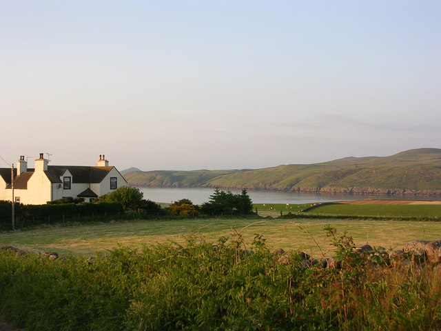 North Rhins across the mouth of Loch Ryan