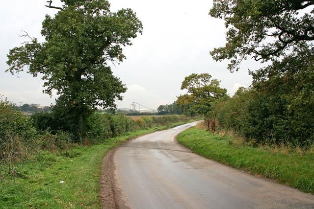 Country road near Ellistown