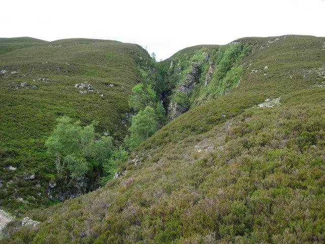 Gorge of Allt na Leuma