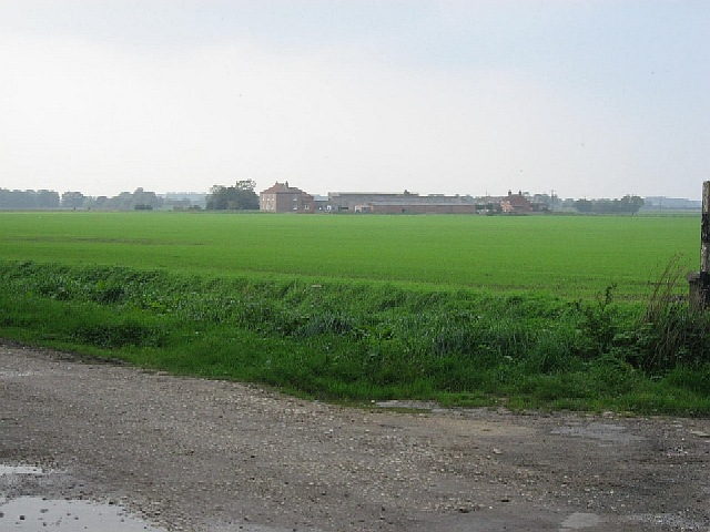 Towards East Lilling Farm