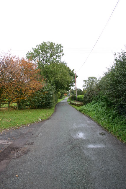 A lane out of Hopton Village