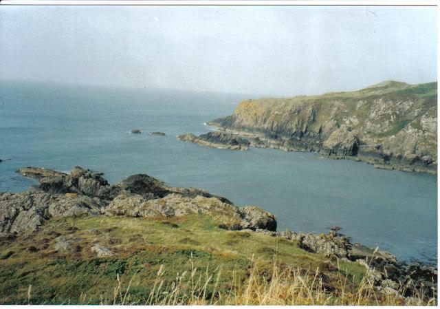 Cliffs and bay near Portpatrick