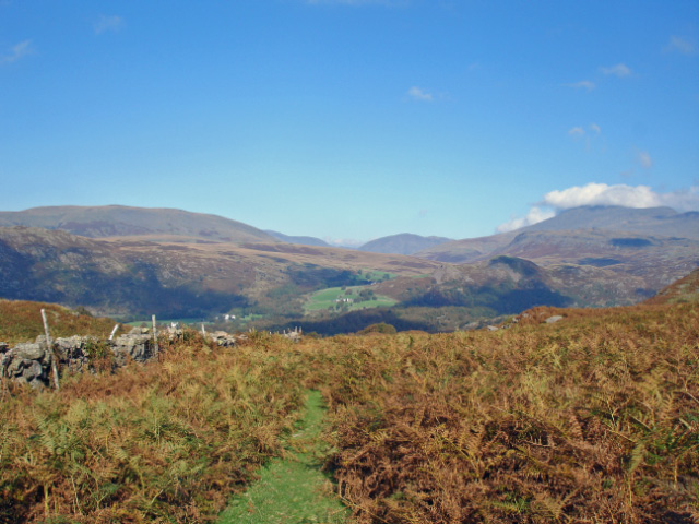 View across Eskdale from near Whincop Farm