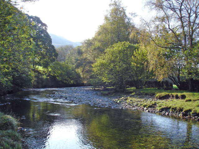 River Esk below Wha House bridge