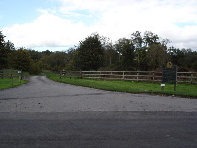 Entry to Sandroyd Golf Course