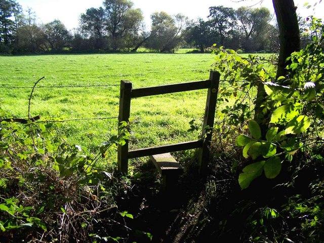 Stile Near Huddlesford