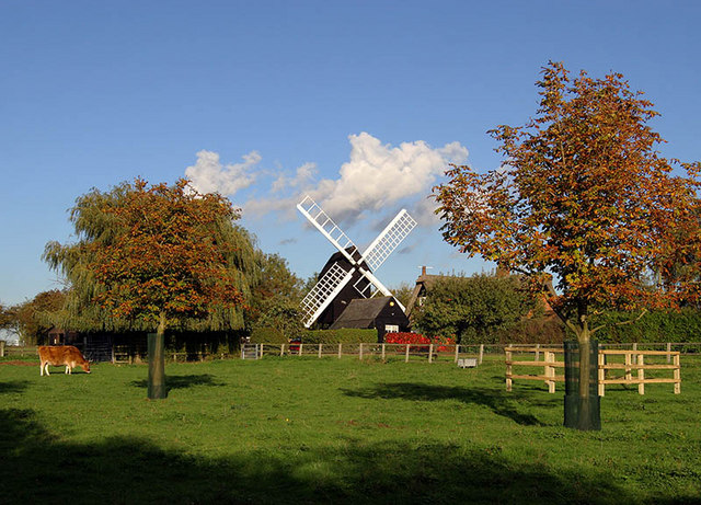 Bourn Windmill