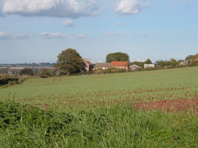 Field Overlooking Hillside House Hayton