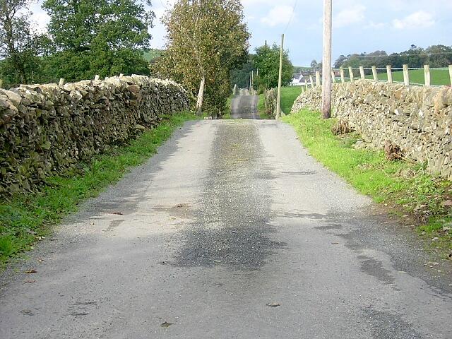 Undulating Road to Markfast
