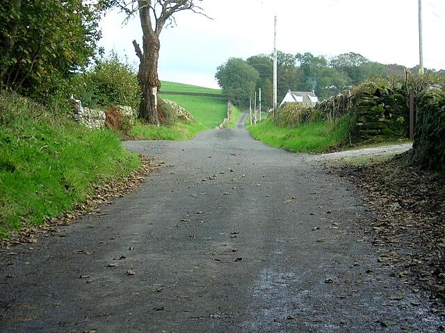 Road from West Glenarm to East Glenarm
