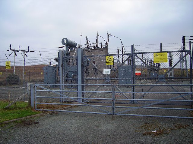 Sub station, Dunvegan