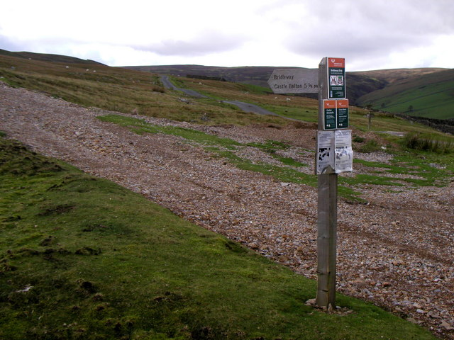 The track to Whitaside Moor