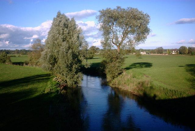 River Trent, upstream