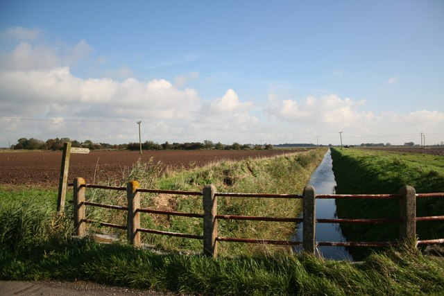 Croft Drain from Pinchbeck Lane