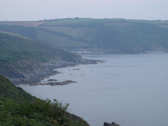 Coastline towards West Portholland
