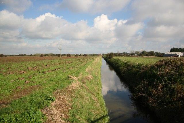 Croft Drain near Petersfield farm