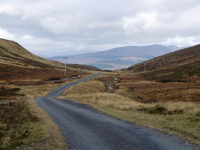 Private road, Allt an Sgailean.