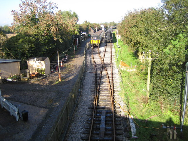 Swindon & Cricklade Railway: Blunsdon Station (1)