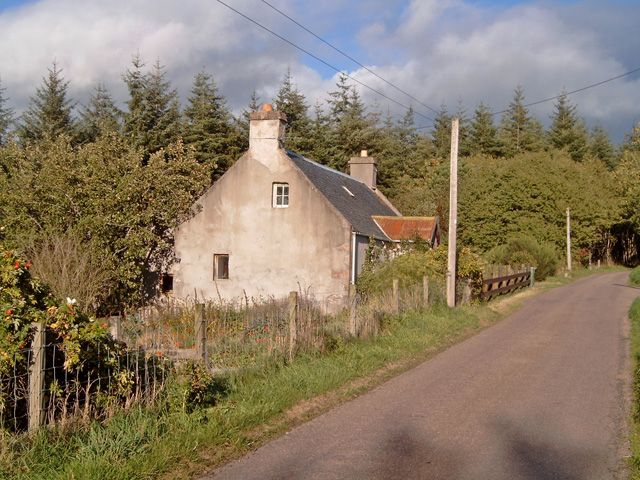 Roadside Cottage near Lethen