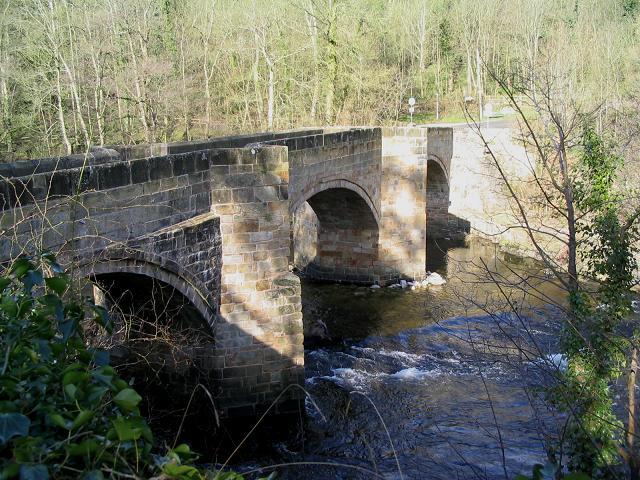 Cysyllte bridge, Trevor