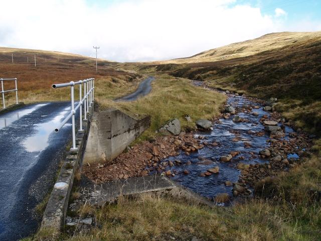 Bridge over the Allt Ghlas