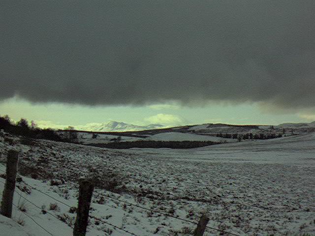 Winter near Loch Mhor