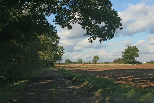 Farmland near Enderby
