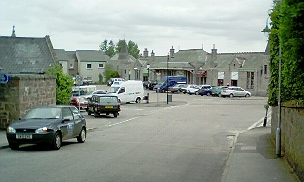Station Square, Aboyne.