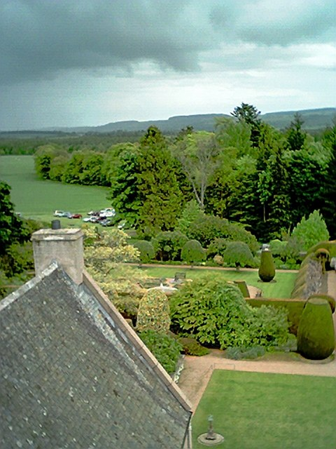 A view from Crathes Castle.