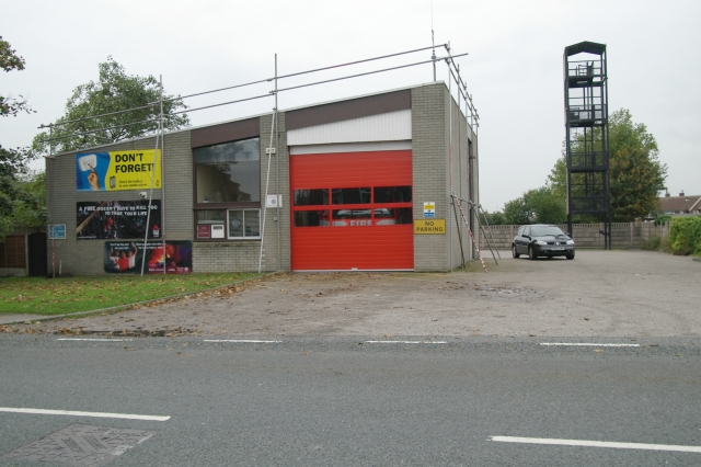 Tarleton fire station