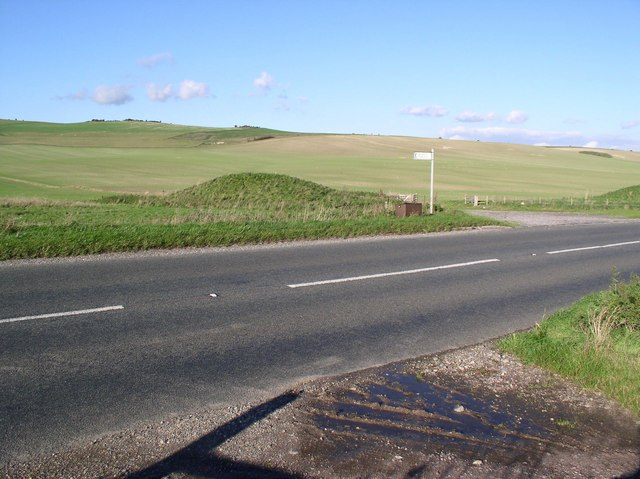 Barrow beside A361