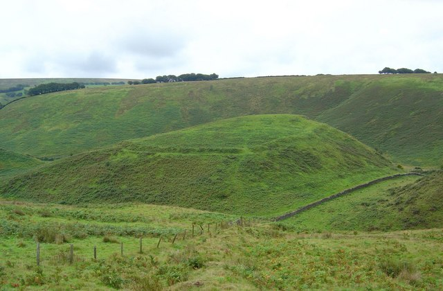 Cow Castle Iron Age fort,Simonsbath,Somerset.