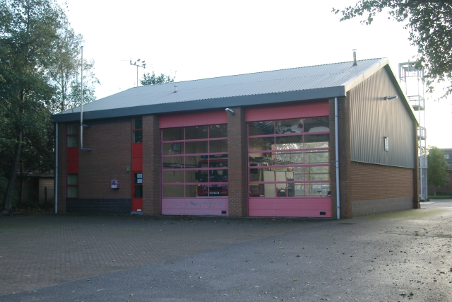 Tarporley fire station