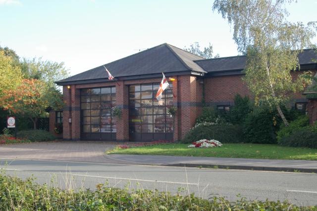 Nantwich fire station