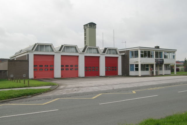 Newcastle fire station