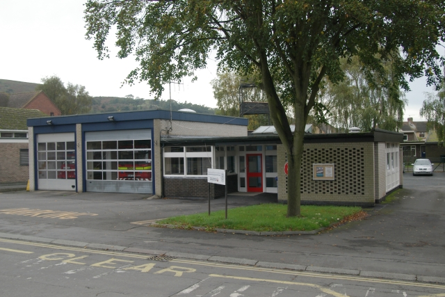 Church Stretton fire station