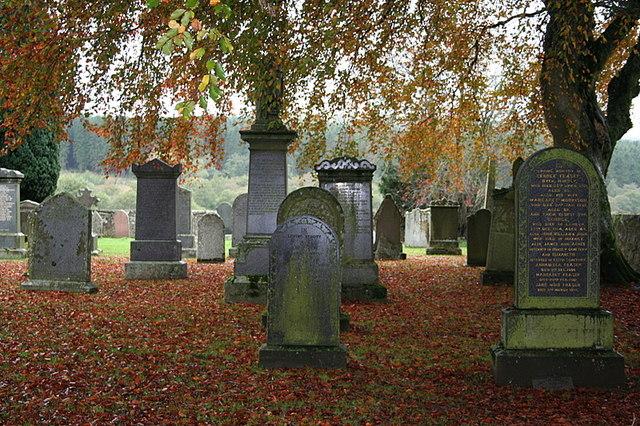 Dunbennan Cemetery.