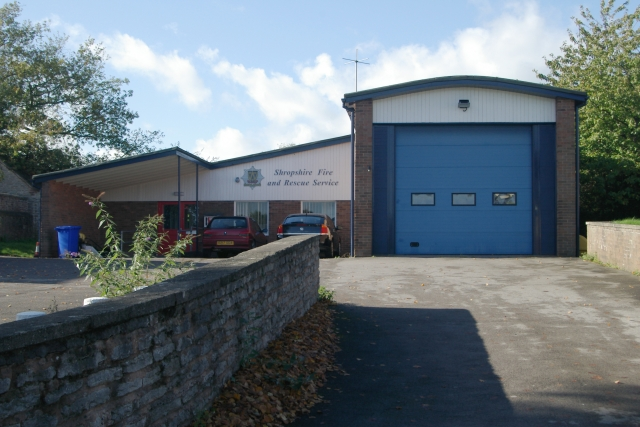 Much Wenlock fire station