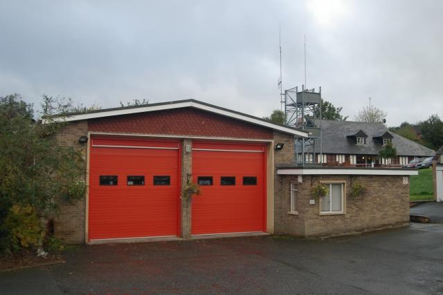 Bromyard fire station
